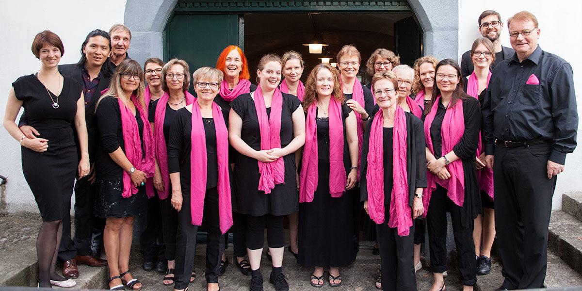 Chor am Ufwind Gottesdienst am 24. Juni 2017