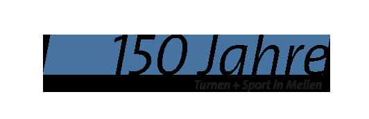 Logo 150 Jahre Turnen + Sport in Meilen