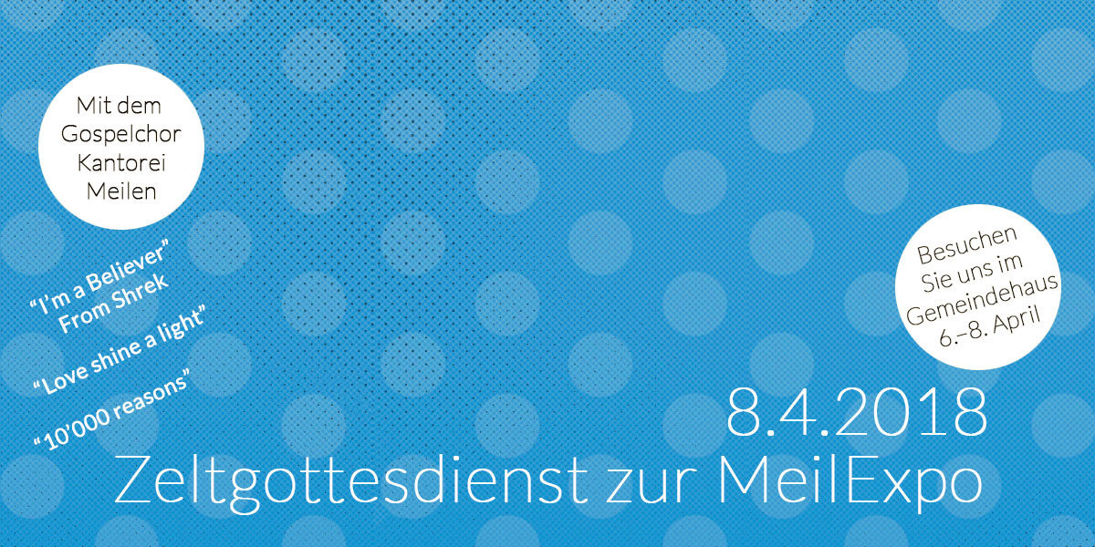 Slider Text und Grafik zur MeilExpo