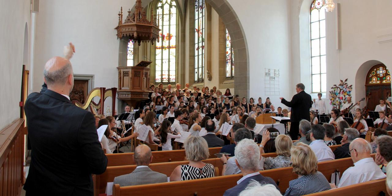 Cantiamo Chor zum Kirchturmfest-Gottesdienst